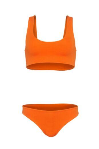 LA Sisters Sporty Bikini Orange Still