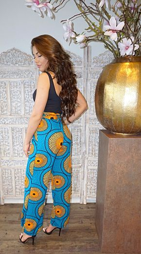 Africa Safiyah Wide Pants Blue