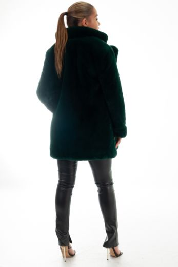 Chloe Coat Forrest Green