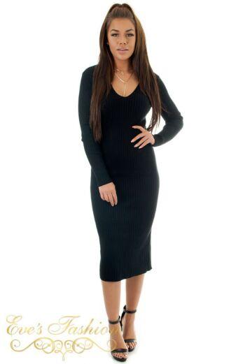Eve Comfy Doll Dress Black front