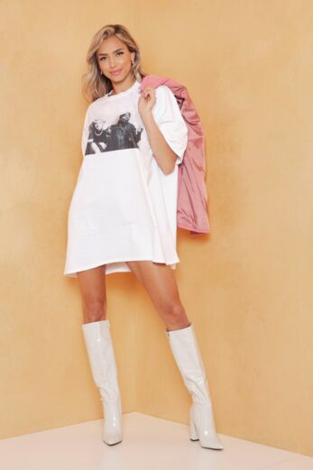 Eve Iconic Legends Tee White Front