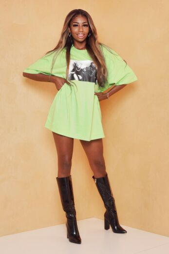 Eve Iconic Legends Tee Green Front