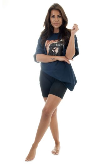 Panther Tee Navy Blue