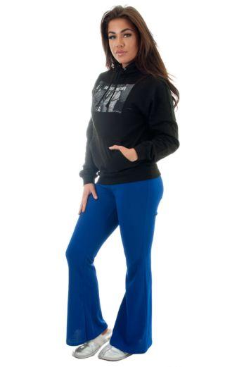 Flare Pants Blue
