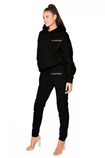 Hologram Sweatpants Black