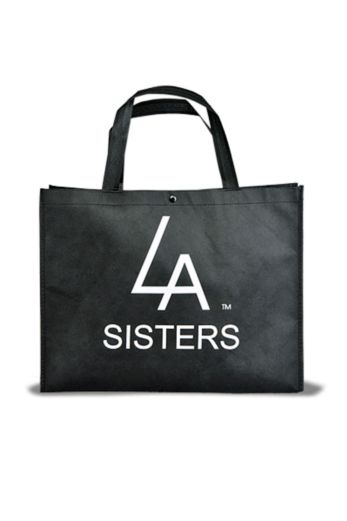 LA Sisters Shopping Bag Front