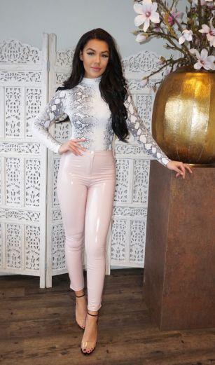 Rania Snake Body White