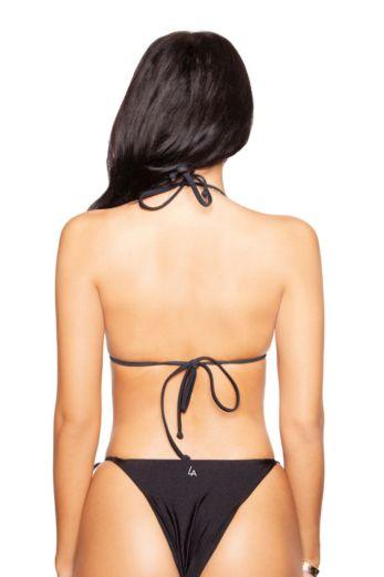 Basic Triangle Bikini Black