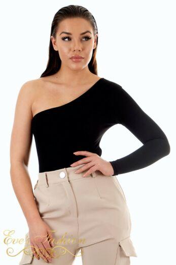 Off Shoulder Bodysuit Black