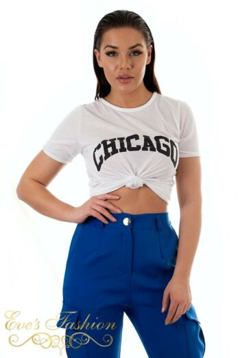 Chicago Tee White