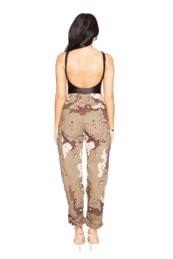 Camouflage Pants Beige