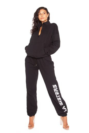 LA Sisters Basic LA Sweatpants Front