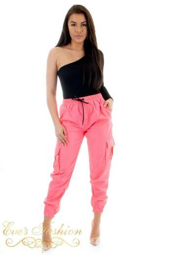 Track Pants Neon Pink