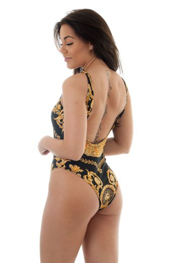 Million Bathingsuit Black Gold