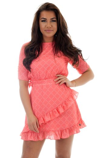 JL Logo Skirt Hot Pink