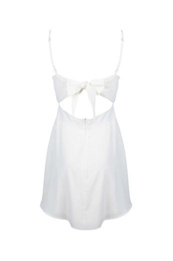 Liv Bow Dress White