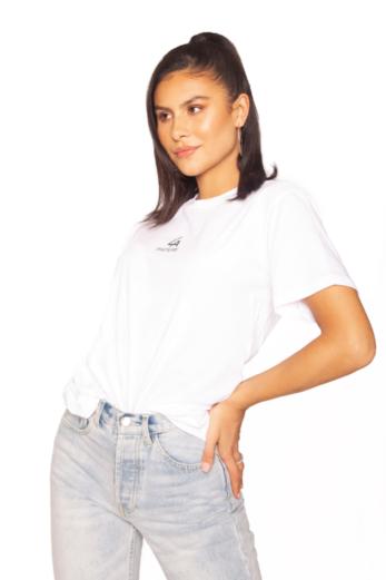 Basic Mini Logo Tee White