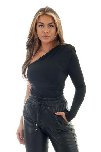 Ruby One Sleeve Body Black