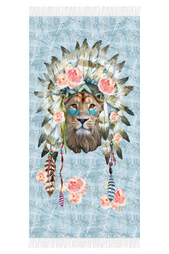 Lion Beachtowel