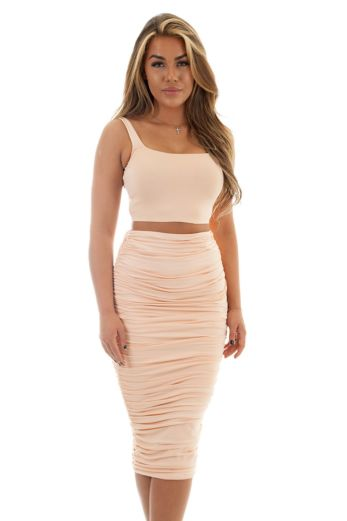 Chelsea Two Piece Light Orange