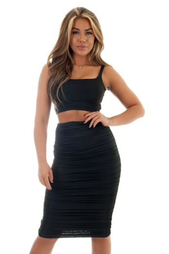Chelsea Two Piece Black