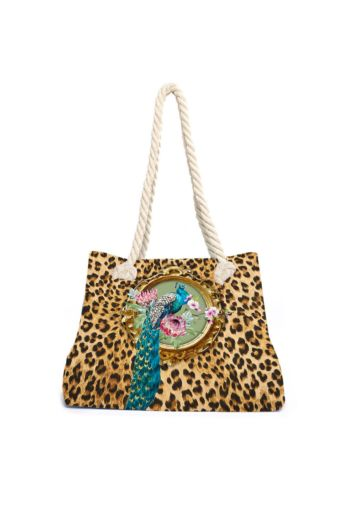 Aqua Licious Lovely Leo Beach Bag