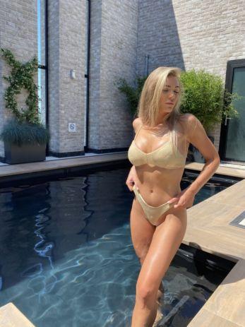 Sydney Bikini 3 Piece Beige Gold