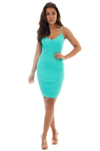 Amy Dress Ocean Blue