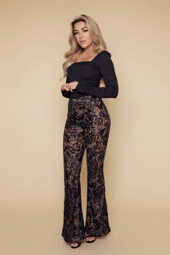 Unique the Label Avery Lace Pants Front