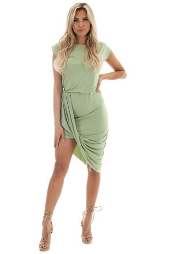 Eve Bree Comfy Two Piece Mint Front