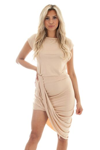 Bree Comfy Two Piece Nude