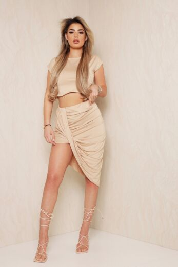 Eve Bree Comfy Two Piece Nude Front