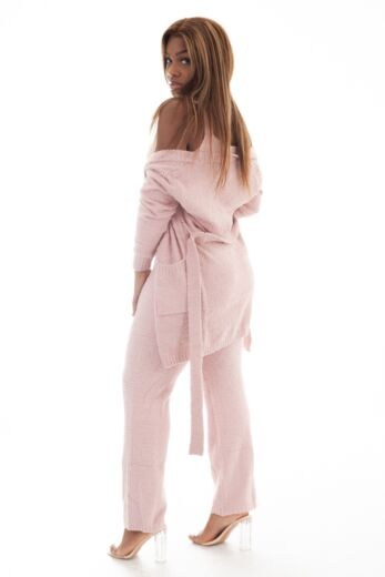 Coco Fluffy 3 Piece Set Pink