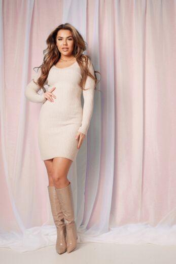 Comfy Doll Dress Creme
