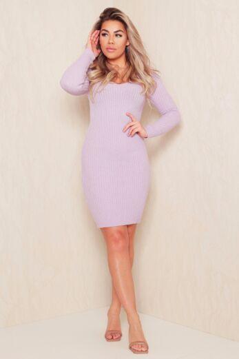 Comfy Doll Dress Lila