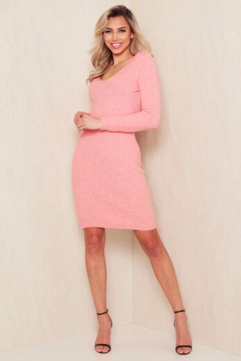 Comfy Doll Dress Pink