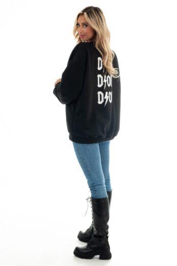 D Inspired Sweater Black/White