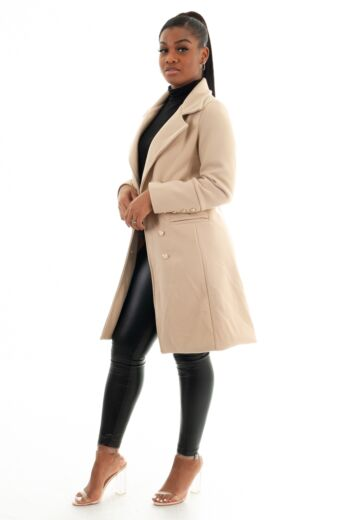 Perfect Blazer Coat Creme