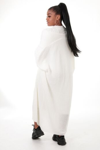 Evie Knitted Two Piece Dress White