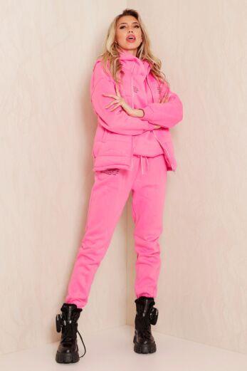 Eve Famous Tracksuit 3 Piece Pink
