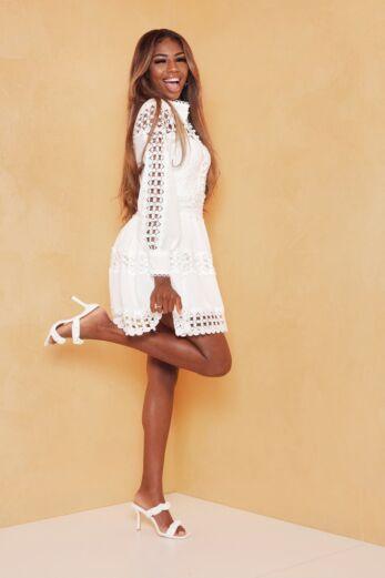 Yacht Days Lace Dress White