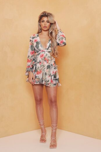 Obsess Playsuit Pretty Pink