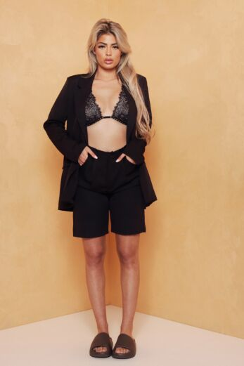 Eve Exclusive Sitting Pretty Two Piece Black Front