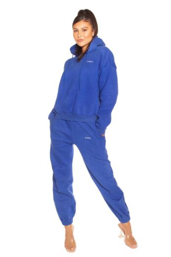 LA Sisters Essential Sweatpants Blue Front