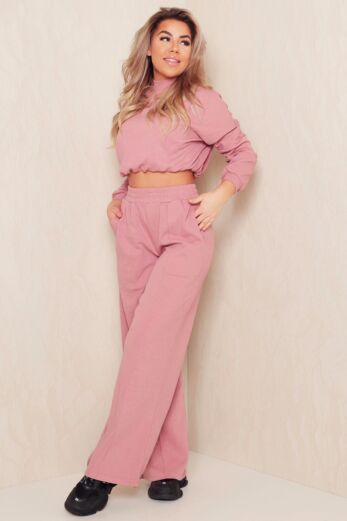 Eve Coco Comfy Set Rusty Pink Side
