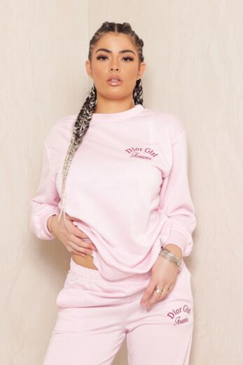 Sweet Girl Sweater Pink