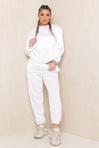 Sweet Girl Sweater White