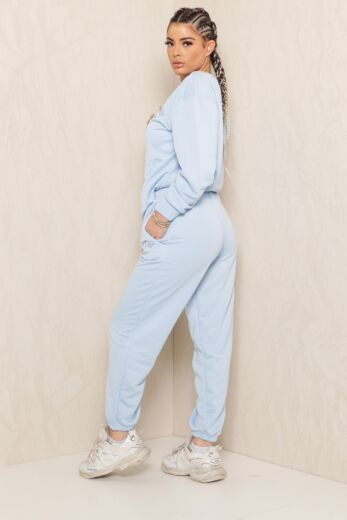 Sweet Girl Sweatpants Baby Blue