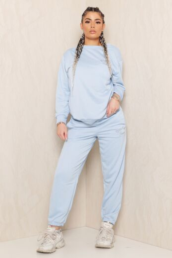 Eve Sweet Girl Sweatpants Baby Blue