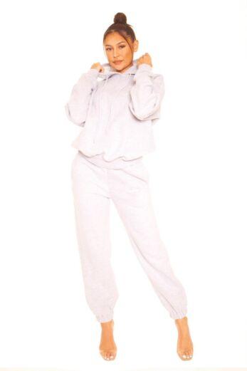 LA Sisters Sweatpants Grey Front